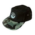 5 Panel Cap Hanseat Flecktarn Wald