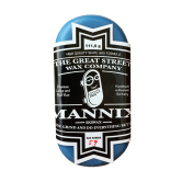 Mannix Skate Wax – traffic blue