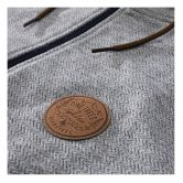 Hippytree Zip Hoodie Norte Grey Blue